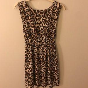 Alice and Olivia Leopard Prnt Dress - Sz XS (EUC)